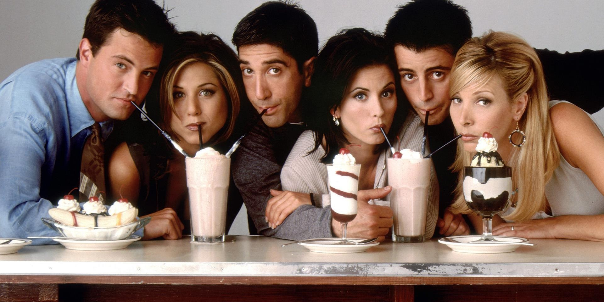 Who was the lead character in Friends? The Data Science